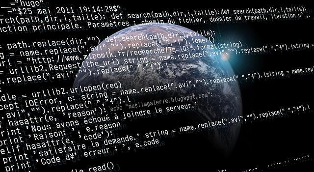 kódy a zeměkoule