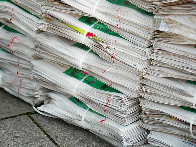 svázané dokumenty určené k likvidaci